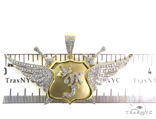 King Wing Diamond Pendant 49772 Metal
