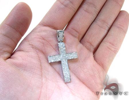 LA Diamond Cross Crucifix Diamond