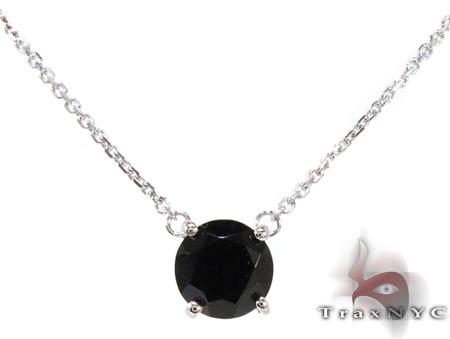 Ladies Onyx Necklace 20781 Gemstone