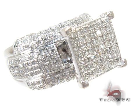 Ladies Bulge Ring 2 Engagement
