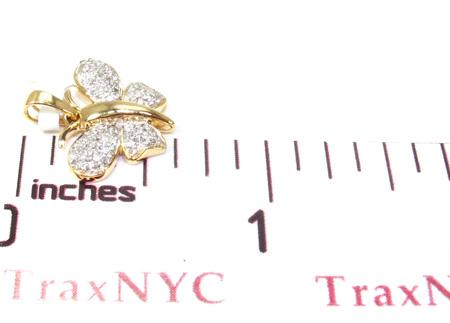 Ladies Butterfly Diamond Pendant 21535 Stone