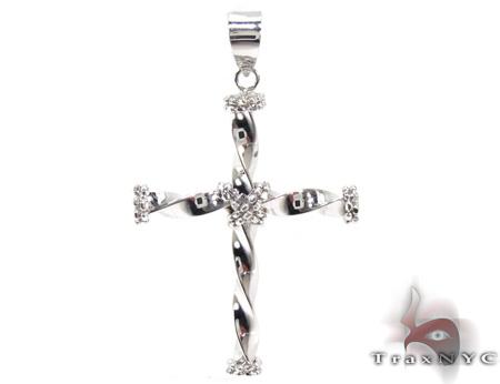 Ladies Cross Pendant 21552 Style