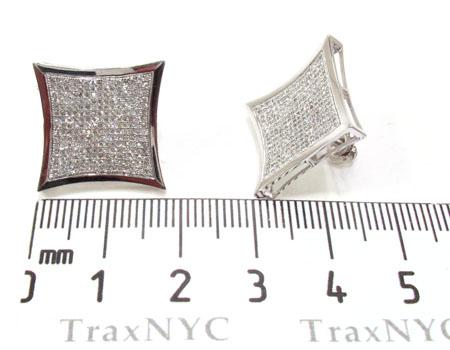 Mens Diamond Earrings 21646 Stone