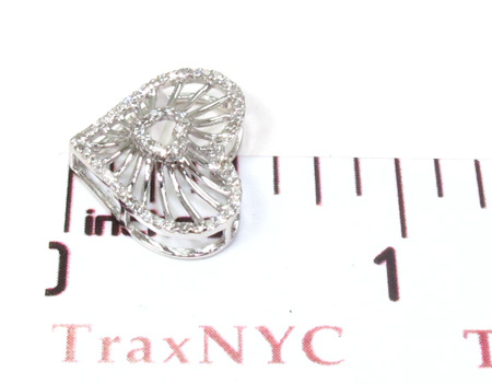 Ladies Diamond Heart Pendant 21485 Stone