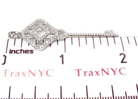 Ladies Diamond Key Pendant 20763 Style