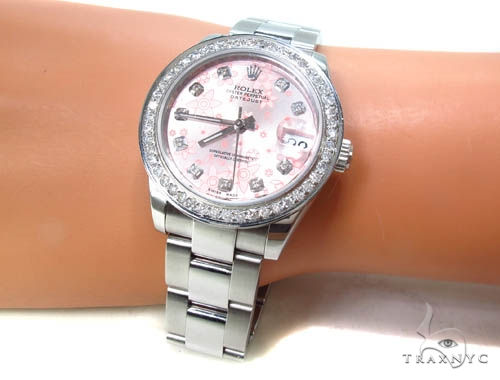 Ladies Diamond Rolex DateJust 31 Rolex Collection
