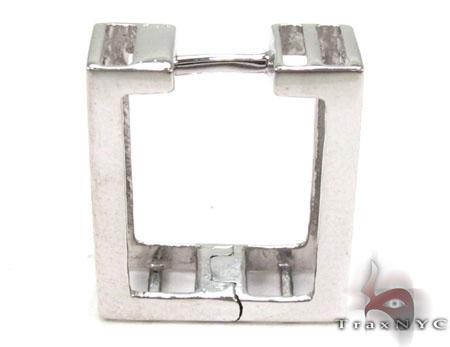Ladies Micro Pave Diamond Earrings 21626 Stone