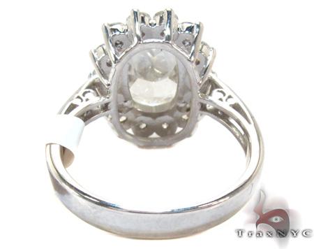 Ladies Oval Cut Diamond Ring 21981 Engagement