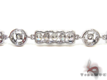 Ladies Prong Channel Diamond Bracelet 22143 Diamond