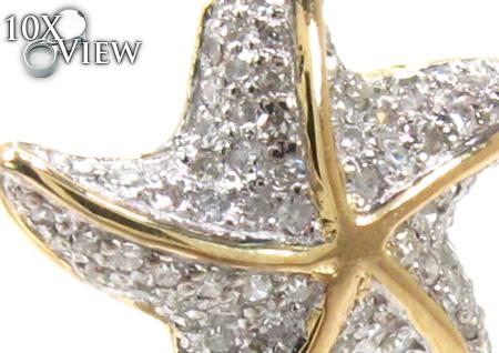 Ladies Prong Diamond Pendant 21527 Stone