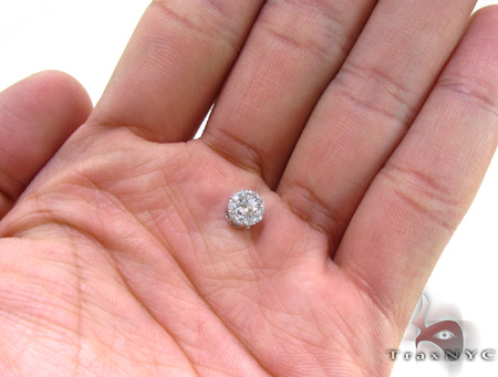 Ladies Prong Diamond Pendant 21591 Stone