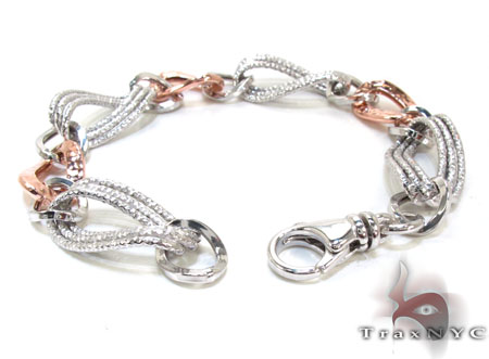 Ladies Silver Bracelet 21860 Silver & Stainless Steel
