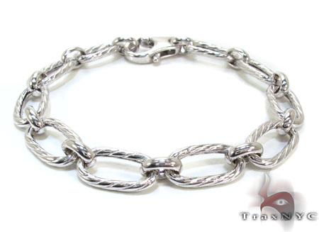 Ladies Silver Bracelet 21866 Silver & Stainless Steel