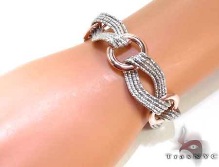 Ladies Silver Bracelet 21872 Silver & Stainless Steel