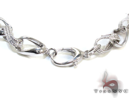Ladies Silver n 18 Inches 11mm 29.8 Grams Silver