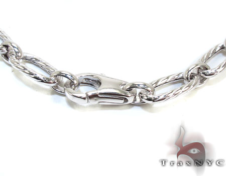 Ladies Silver Chain 18 Inches 9mm 19.6 Grams Silver