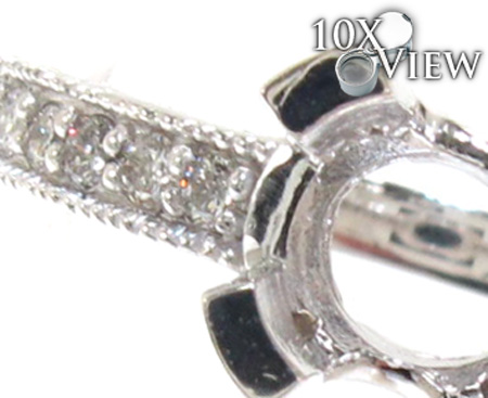 Ladies Semi Mount Diamond Ring 21200 Engagement