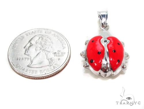 Lady Bug Silver Pendant 36362 Metal