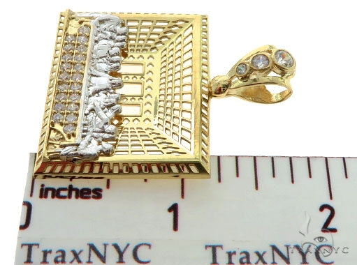 Last Supper 10k Yellow Gold Pendant 45439 Gold