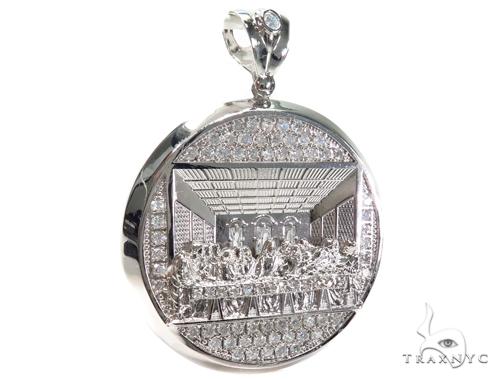Silver Pendant 40873 Metal