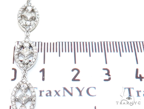 Leo Prong Diamond Earrings & Necklace Set 43811 Diamond