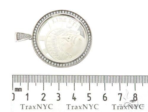 Liberty White Pendant 63700 Metal