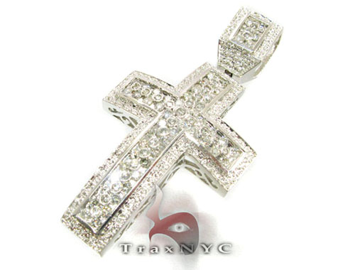 Liner Cross Crucifix Diamond