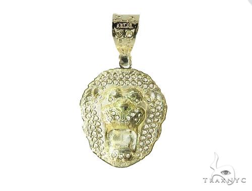 Lion Gold Pendant 49749 Metal