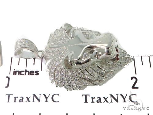 Lion Silver Pendant 49917 Metal