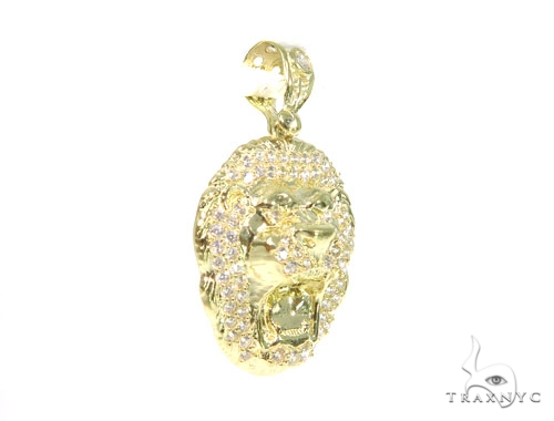 Lion Yellow Gold Pendant 45440 Metal
