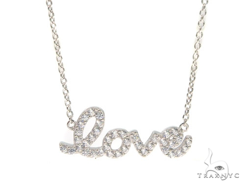 Love Gold Necklace 45299 Gold