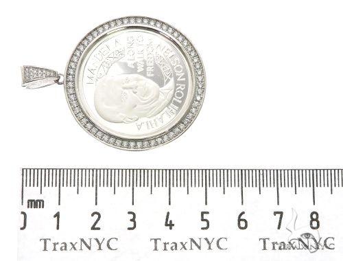 Mandela Coin White 63688 Metal