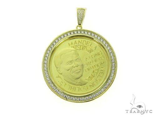 Mandela Pendant 63697 Metal