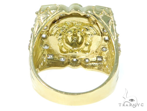 Medusa Gold Ring 45461 Metal