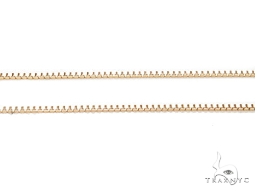 Mens 10k Hollow Yellow Gold Box n n 20 Inches 0.5mm 1.01 Grams 46900 Gold