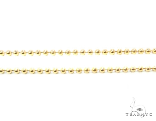 Mens 10k Solid Yellow Gold Ball Chain 20 Inches 1.8mm 4.91 Grams 46851 Gold