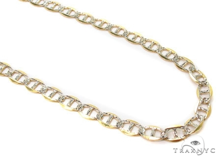 Mens 10k Solid Yellow Gold Gucci Chain 24 Inches 3mm 5.0 Grams 47901 Gold