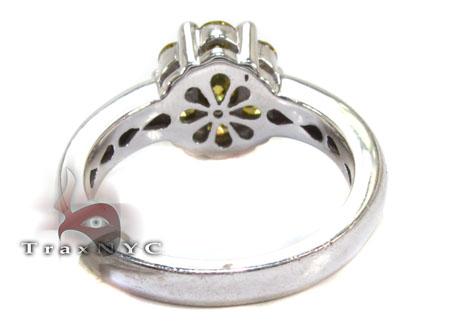 Canary Color Diamond Ring Anniversary/Fashion