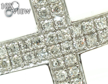 Mens Diamond Cross Crucifix 21229 Diamond