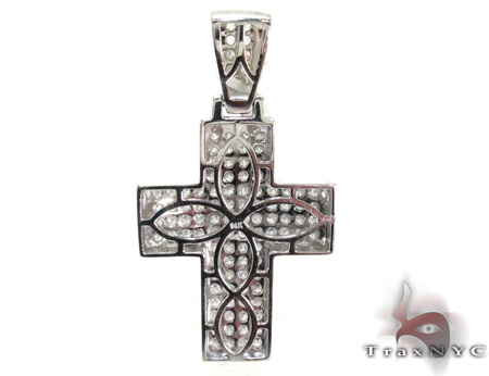 Mens Diamond Cross 21426 Diamond