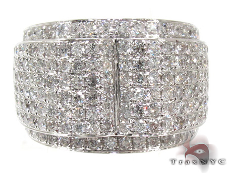 Mens Diamond Pinky Ring 21507 Stone