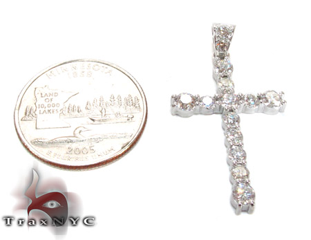 Mens Fellowship Cross Crucifix Diamond
