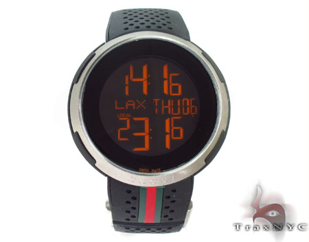 Mens I Gucci Rubber Strap Watch Gucci