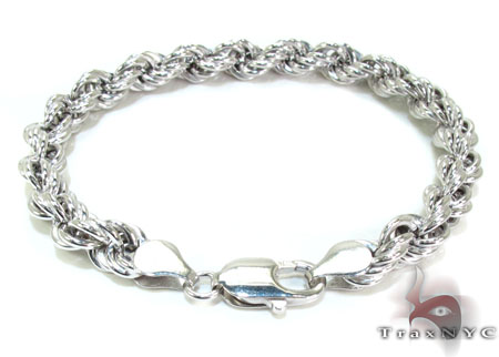 Ladies Silver Bracelet 21840 Silver & Stainless Steel