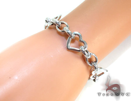 Ladies Silver Bracelet 21842 Silver & Stainless Steel