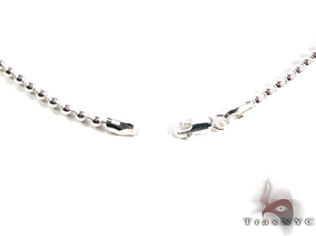 Mens Silver Chain 22 Inches 2mm 14.5 Grams Silver