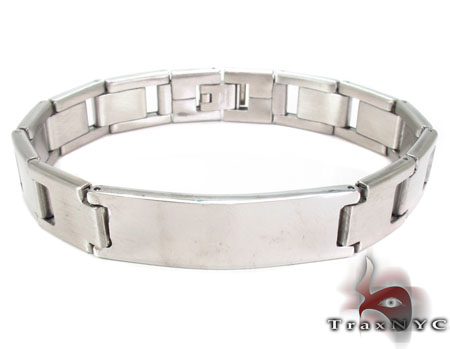 Mens Stainless Steel Bracelet 21707 Stainless Steel