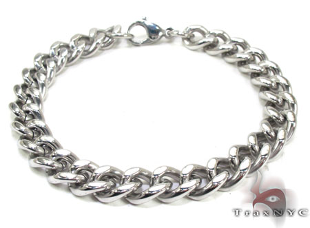 Mens Stainless Steel Bracelet 21712 Stainless Steel