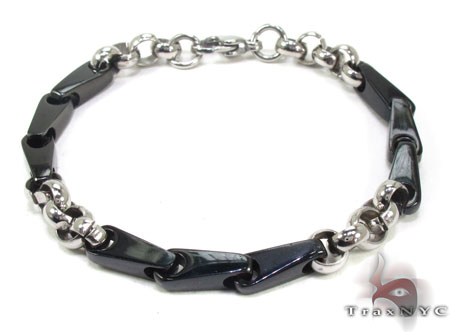 Mens Stainless Steel Bracelet 21715 Stainless Steel