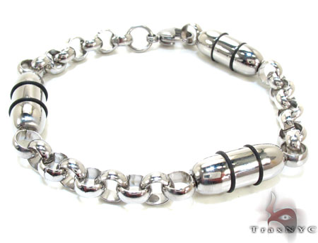 Mens Stainless Steel Bracelet 22082 Stainless Steel
